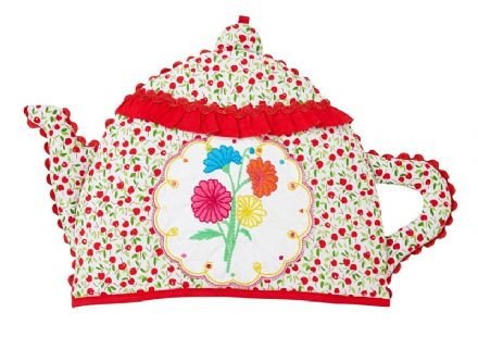 Ulster Weavers Cherry Teapot Shaped Tea Cosy